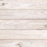 Plancia di legno bianca Fotografia Stock Libera da Diritti