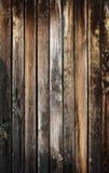 Plancia di legno bruciata Fotografia Stock