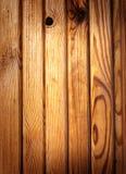 Plancia di legno calda Immagine Stock