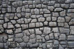 Plancia di legno carbonizzata Immagine Stock Libera da Diritti