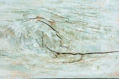 Plancia di legno con il foro immagini stock