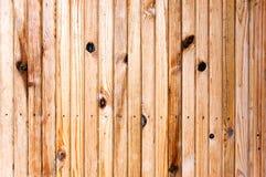 Plancia di legno del pino Fotografia Stock Libera da Diritti