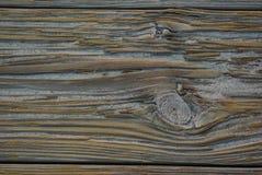 Plancia di legno del Sandy Immagine Stock Libera da Diritti