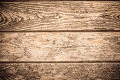 Plancia di legno dello scrittorio da usare come fondo Immagine Stock Libera da Diritti
