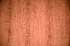 Plancia di legno dello scrittorio da usare come fondo Fotografia Stock Libera da Diritti