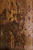 Plancia di legno di struttura con i vecchi chiodi Immagine Stock Libera da Diritti