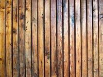 Plancia di legno esposta all'aria Immagine Stock