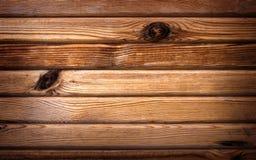Plancia di legno orizzontale Fotografie Stock Libere da Diritti