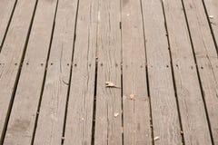 Plancia di legno veritcal Fotografia Stock