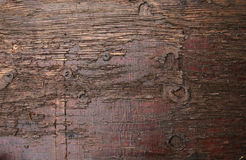 Plancia di marrone scuro Immagini Stock