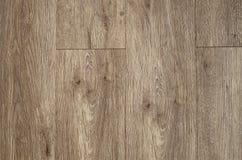 Plancia marrone di legno come fondo e modello Fotografia Stock Libera da Diritti
