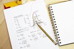 Plancks Konstante lizenzfreies stockfoto