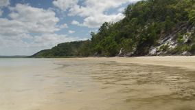 Plandeka puszka strzał słońce na plaży zbiory