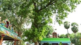 Plandeka puszka Zewnętrzna Tradycyjna Hinduska świątynia zbiory