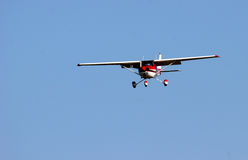 Plane. Coming into land Stock Photography