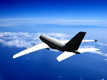The  plane Royalty Free Stock Image