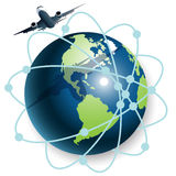 Plane vector illustration