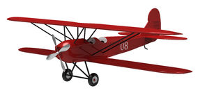 The plane Stock Photo