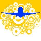 The plane Stock Image
