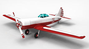 The plane Royalty Free Stock Photos