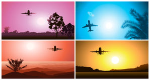 Plane Royalty Free Stock Photos