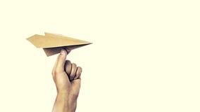 纸plane2 库存图片