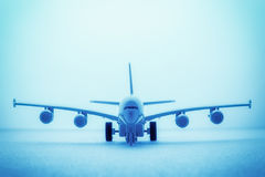 Plane abstract background Stock Photography