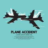 Plane Accident Royalty Free Stock Images