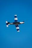 Plane acrobatics Royalty Free Stock Photos