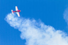 Plane Acrobatics Stall Flying Stock Photography