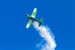 Plane Acrobatics Stall Flying Royalty Free Stock Photography