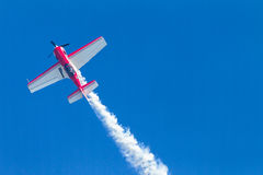 Plane Acrobatics Vertical Flying Royalty Free Stock Image