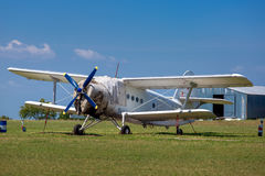 The plane, agricultural aeroplane. Stock Photography
