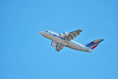 Plane that belongs to Air France company Royalty Free Stock Photography