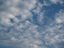 Plane on bluesky royalty free stock photos