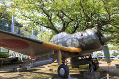 Plane in Chiran peace museum  Royalty Free Stock Photography