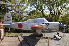 Plane in Chiran peace museum Stock Image
