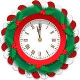 Plane Christmas Watch Stock Photo