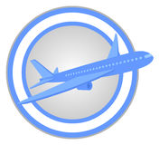 Plane circle Stock Images