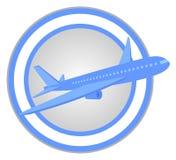 Plane circle Stock Images