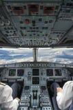 Plane cockpit Stock Photos
