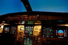 Plane control Stock Image