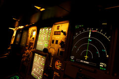 Plane control Royalty Free Stock Images