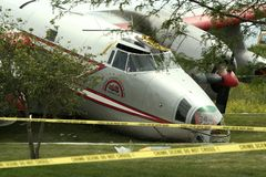 Plane Crash Royalty Free Stock Photo