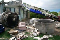 Plane Crash Royalty Free Stock Images