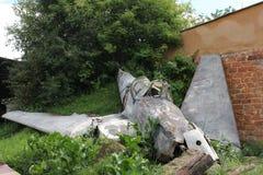 Plane crash Royalty Free Stock Photography