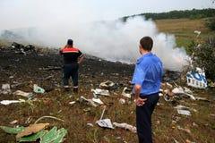 Plane Crash. Stock Images
