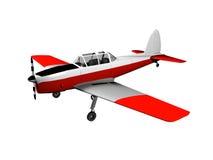 Plane. 3D image of plane, isolated on white Stock Image