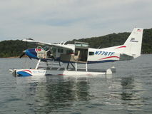 Plane on Dale Hollow Lake in Tennessee Stock Images