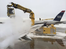Plane Deicing Stock Images
